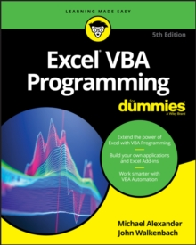 Excel VBA Programming For Dummies, Paperback / softback Book