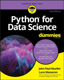 Python for Data Science For Dummies, Paperback / softback Book