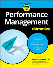 Performance Management For Dummies, Paperback / softback Book