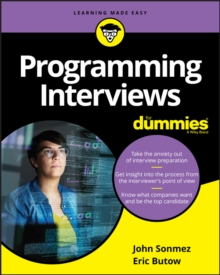 Programming Interviews For Dummies, Paperback / softback Book