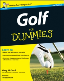 Golf For Dummies, Paperback Book