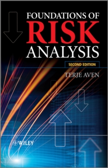 Foundations of Risk Analysis, Hardback Book