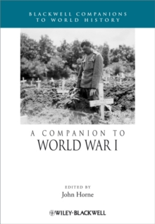 A Companion to World War I, Paperback / softback Book
