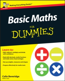 Basic Maths For Dummies, Paperback Book