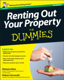 Renting Out Your Property For Dummies, Paperback Book
