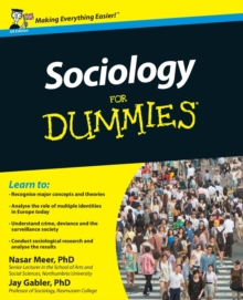 Sociology For Dummies, Paperback Book