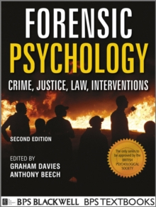 Forensic Psychology 2E, Paperback Book