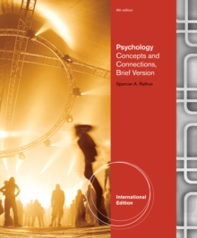 Psychology : Concepts & Connections, Brief Version, International Edition, Paperback Book