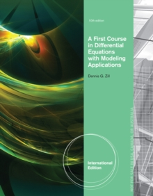 A First Course in Differential Equations with Modeling Applications, International Edition, Paperback Book