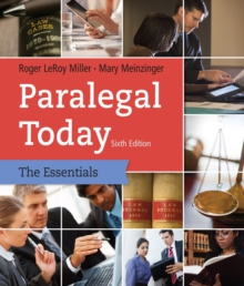 Paralegal Today : The Essentials, Paperback Book