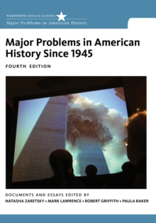 Major Problems in American History Since 1945, Paperback / softback Book