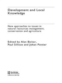 Development and Local Knowledge, EPUB eBook
