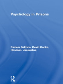 Psychology in Prisons, EPUB eBook