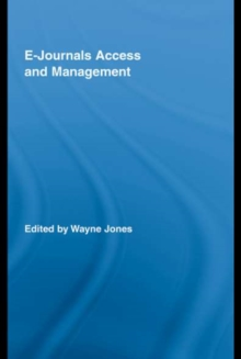 E-Journals Access and Management, PDF eBook