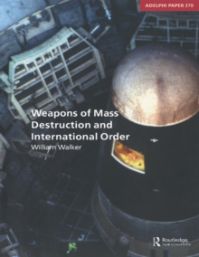 Weapons of Mass Destruction and International Order, EPUB eBook