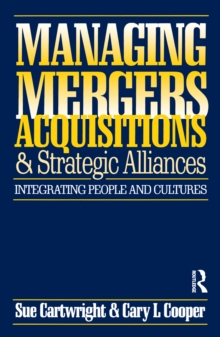 Managing Mergers Acquisitions and Strategic Alliances, PDF eBook
