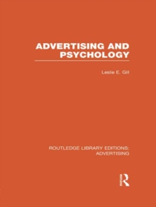 Advertising and Psychology (RLE Advertising), PDF eBook