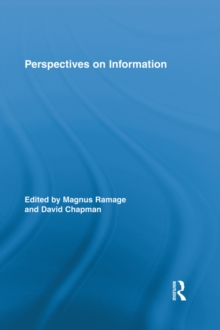 Perspectives on Information, EPUB eBook
