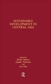 Sustainable Development in Central Asia, EPUB eBook