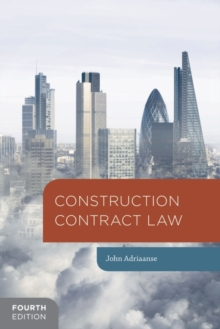 Construction Contract Law, Paperback Book