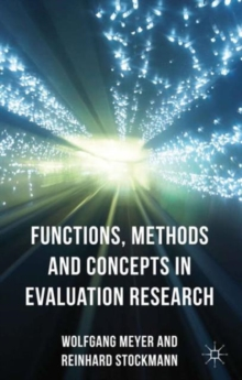 Functions, Methods and Concepts in Evaluation Research, Hardback Book