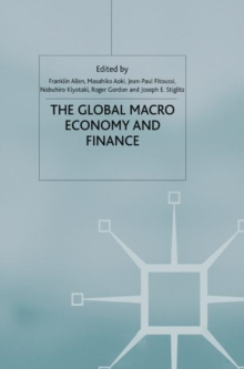 The Global Macro Economy and Finance, Paperback / softback Book