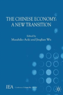 The Chinese Economy : A New Transition, Paperback / softback Book
