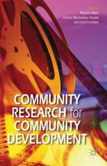 Community Research for Community Development, Hardback Book