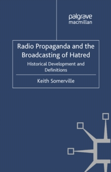 an analysis of broadcasting A selection of radio ratings from 1937 to the 1970's from hooper pulse arb and crossley 1927 to the cooperative analysis of broadcasting, inc.