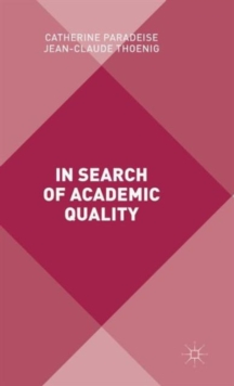 In Search of Academic Quality, Hardback Book