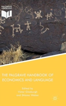 The Palgrave Handbook of Economics and Language, Hardback Book