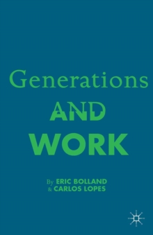 Generations and Work, PDF eBook