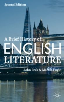 A Brief History of English Literature, Paperback Book