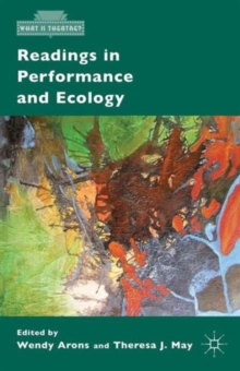 Readings in Performance and Ecology, Paperback / softback Book