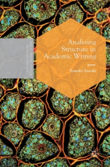 Analysing Structure in Academic Writing, Hardback Book