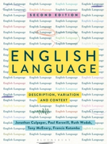 English Language : Description, Variation and Context, Paperback / softback Book
