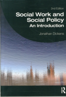 Social Work and Social Policy : An Introduction, Paperback / softback Book