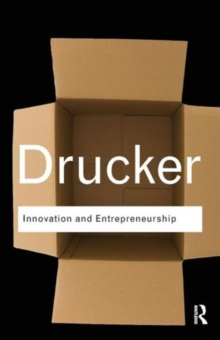 Innovation and Entrepreneurship, Paperback Book