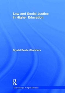Law and Social Justice in Higher Education, Hardback Book