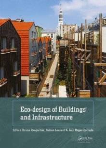 Eco-design of Buildings and Infrastructure, Hardback Book