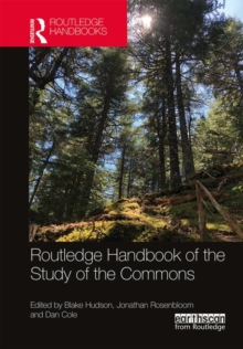 Routledge Handbook of the Study of the Commons, Hardback Book