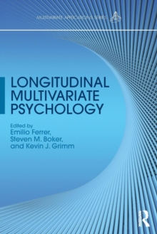 Longitudinal Multivariate Psychology, Paperback / softback Book