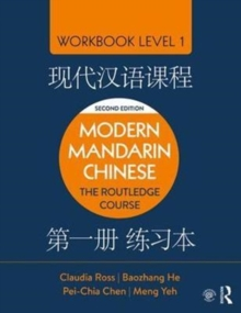 Modern Mandarin Chinese : The Routledge Course Workbook Level 1, Paperback / softback Book