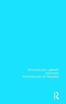 Psychophysiological Aspects of Reading and Learning, Hardback Book