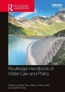 Routledge Handbook of Water Law and Policy, Hardback Book