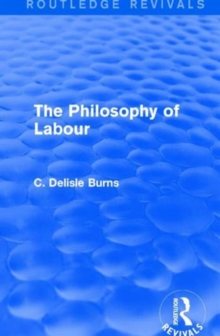 The Philosophy of Labour, Hardback Book