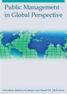 Public Management in Global Perspective, Hardback Book