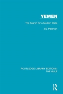 Yemen: the Search for a Modern State, Hardback Book