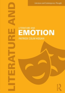 Literature and Emotion, Paperback Book