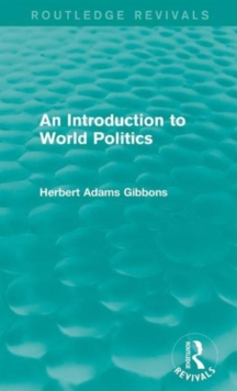 An Introduction to World Politics, Hardback Book